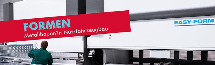 Ausbildung zum Metallbauer/in Nutzfahrzeugbau