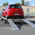 stabile ALU-Auffahrrampen bis 2,90 m Länge und 3.100 kg Traglast pro Paar (modellabhängig)