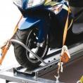 stabile Radbügel für festen Stand der Motorräder