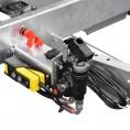 Fernbedienung, Batteriehauptschalter & Nothandpumpe