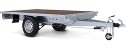 platform trailer single axle