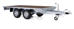 platform trailer twin axle