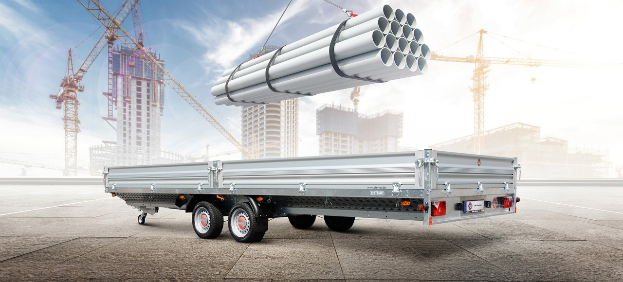 Trailers for building contractors