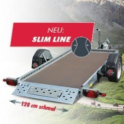 Alles Neue macht der Mai - Die SLIM LINE für Absenkanhänger WOM XT