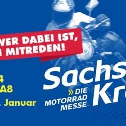 Sachsenkrad - die erste Motorradmesse des Jahres in Dresden