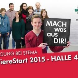 STEMA auf der KarriereStart 2015: Halle 4 | Stand K8