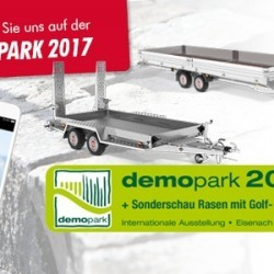 STEMA zur demopark 2017 in Eisenach