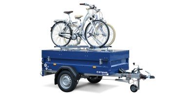 Blue Man 850 mit Fahrradträger