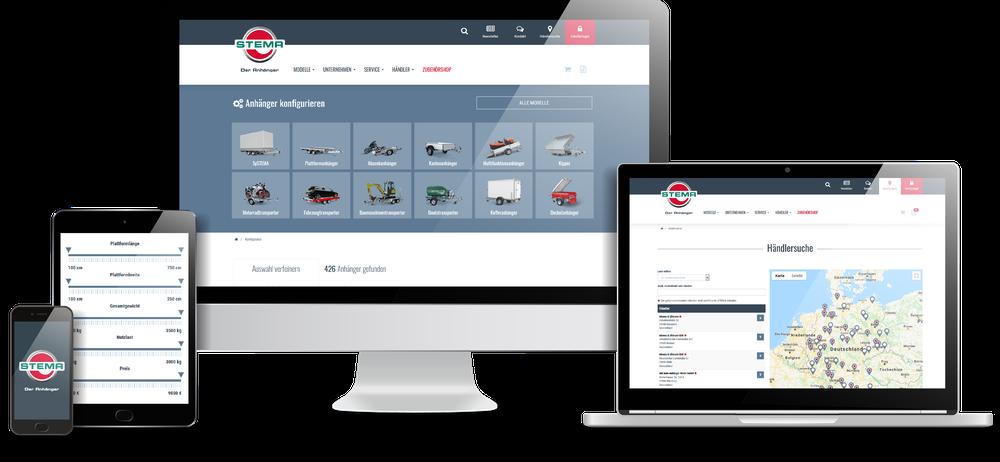 Neue Webseite der STEMA