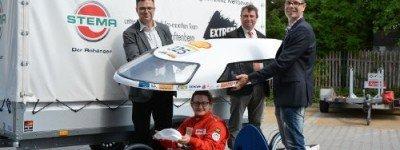 """Die STEMA unterstützt das studentische Team der BTU Senftenberg, welches im Juli 2018 am """"Eco-marathon"""" in London teilnimmt."""