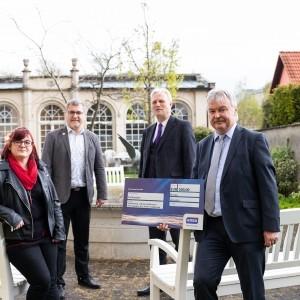 STEMA sponsert mit Sachsen-Energie 1000 €