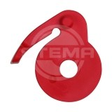 Safety clasps for red side wall fastener
