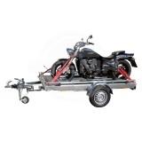 Motorradtransportsatz-Vorderradhaltebügel