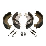 Brake shoes with pads (braked trailers)