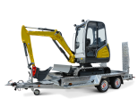 Construction machinery transporter / Construction machinery transporters